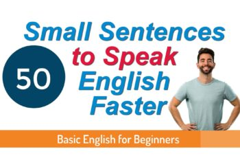 50 English sentence for daily use