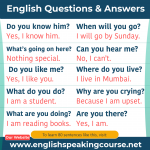 90 General English questions and answers in English